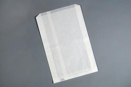 "White Waxsealed Bread Bags - Coffee Cake Size, 9 1/4 x 2 1/4 x 14"""