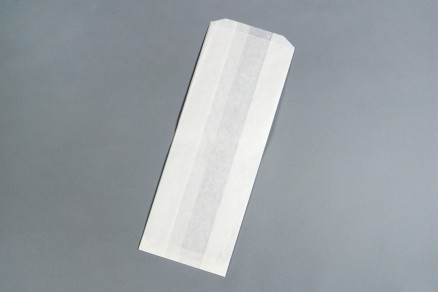 """White Waxsealed Bread Bags - Special 8# Size, 6 x 3 1/2 x 16"""""""