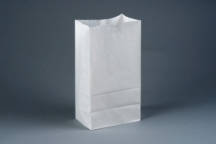 Bakery Bags, White, Waxed, 6 x 3 5/8 x 11""