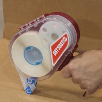 "Dot Shot® Glue Dots® - Low Profile, Medium Tack, 1/2"""