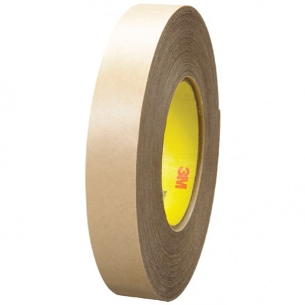 "3M 9485PC High Performance Adhesive Transfer Tape, 1"" x 60 yds., 5 Mil Thick"
