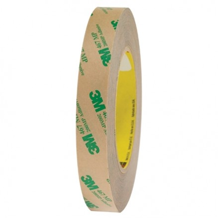 "3M 467MP High Performance Adhesive Transfer Tape, 3/4"" x 60 yds., 2 Mil Thick"