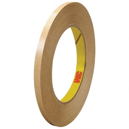 "3M 465 General Purpose Adhesive Transfer Tape, 1/4"" x 60 yds., 2 Mil Thick"