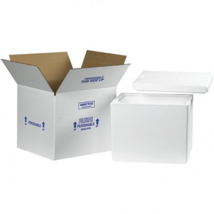 "13 3/4 x 11 3/4 x 11 7/8"" Insulated Shipping Kits"