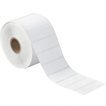 White Desktop Direct Thermal Labels, 2 1/4 x 3/4""