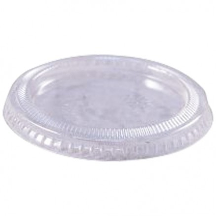 Plastic Portion Cup Lids for 2 oz.