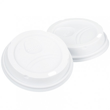 Dixie® Perfect Touch Cups Lids, 10 to 20 oz.