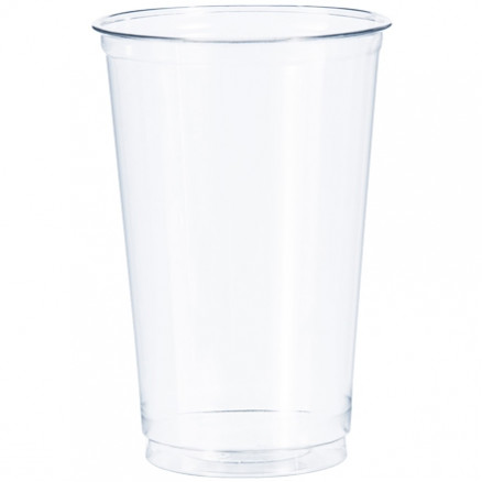 Dixie® Crystal Clear Plastic Cups, 20 oz.