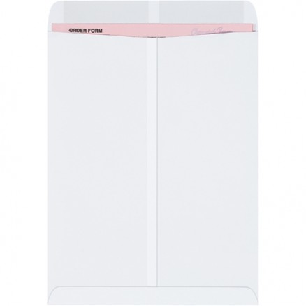Gummed Envelopes, White, 10 x 13""