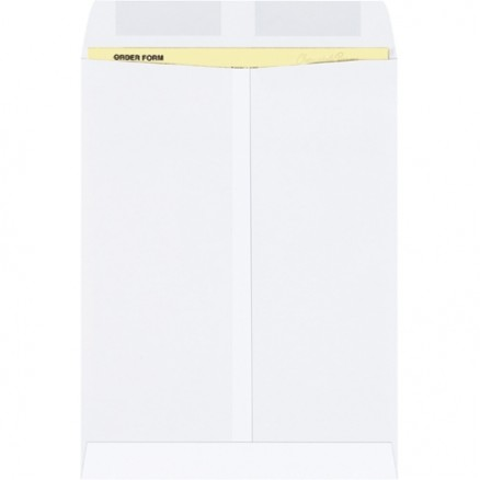 Gummed Envelopes, White, 9 x 12""