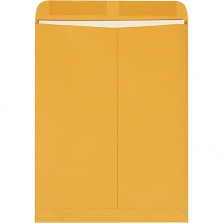 Gummed Envelopes, Kraft, 10 x 13""