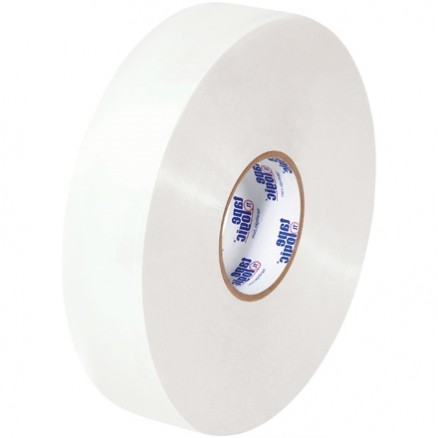"White Machine Carton Sealing Tape, Economy, 2"" x 1000 yds., 1.9 Mil Thick"