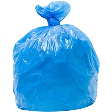 Blue Recycling Trash Liners, 30 Gallon