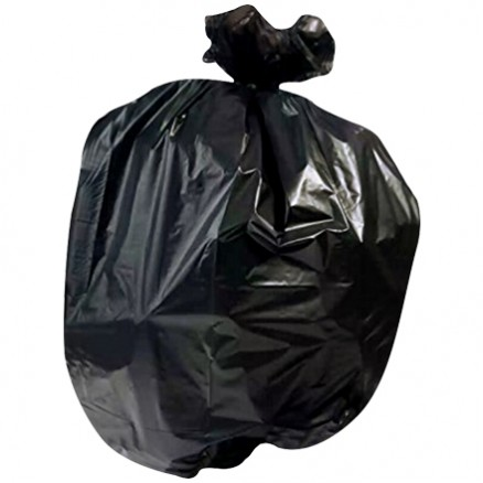 High Density Trash Liners, 12 - 15 Gallon, .3 Mil, Black