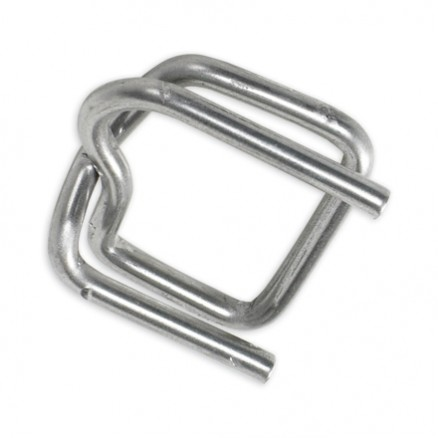 Heavy-Duty Metal Buckles for Poly Strapping, 1/2""