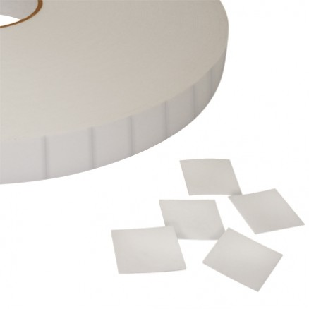 """Pre-Cut Double Sided Foam Squares, 1/16"""" Thick - 1/2 x1/2"""""""