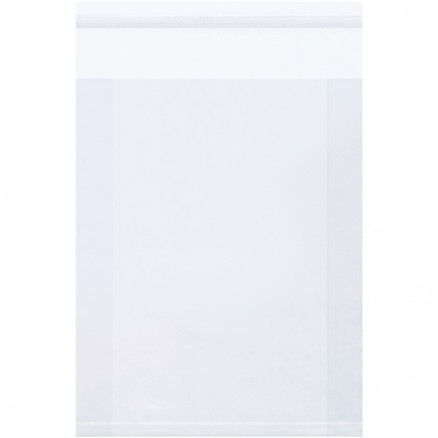 """Resealable Poly Bags, 6 x 2 x 9"""", 2 Mil, Gusseted"""