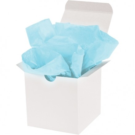 Light Blue Tissue Paper Sheets, 20 X 30""