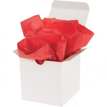 Mandarin Red Tissue Paper Sheets, 20 X 30""