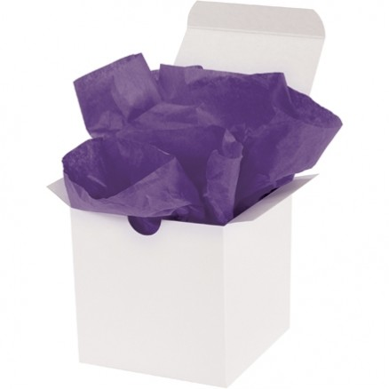 Purple Tissue Paper Sheets, 15 X 20""
