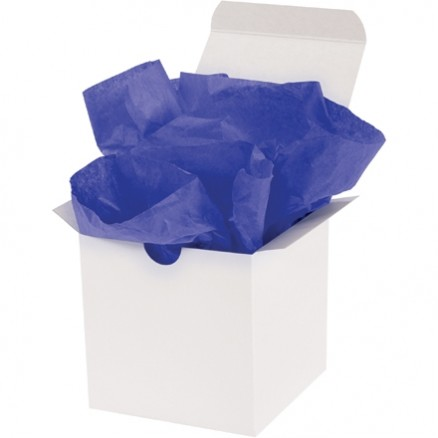 Parade Blue Tissue Paper Sheets, 15 X 20""