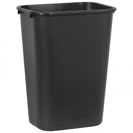 Rubbermaid® Office Trash Can - 10 Gallon, Black