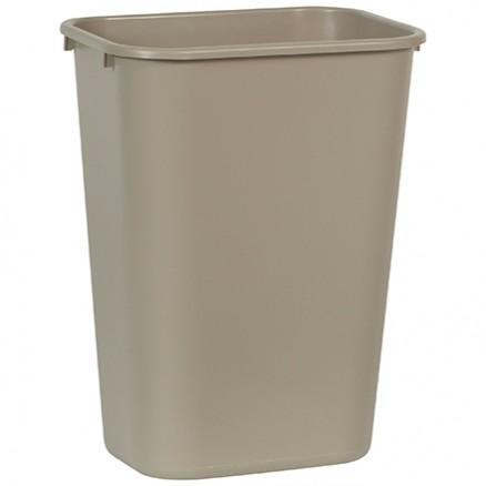 Rubbermaid® Office Trash Can - 10 Gallon, Beige
