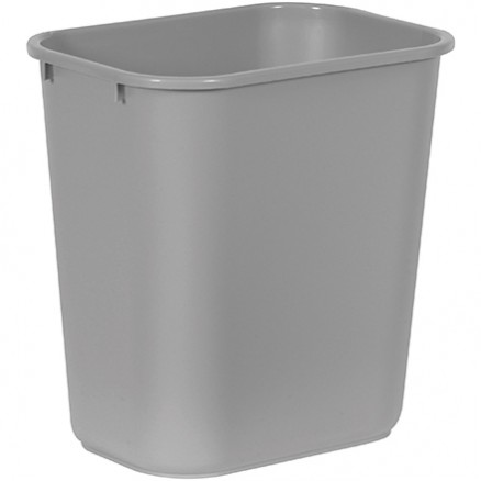 Rubbermaid® Office Trash Can - 7 Gallon, Gray