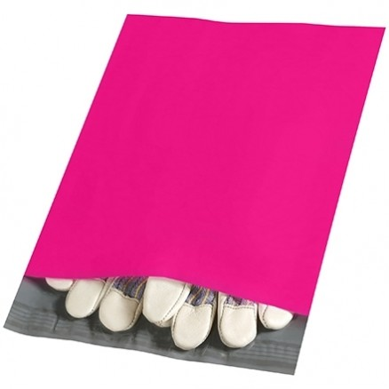 """Poly Mailers, Pink, 10 x 13"""""""