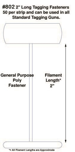 """Poly Fasteners, 2"""""""