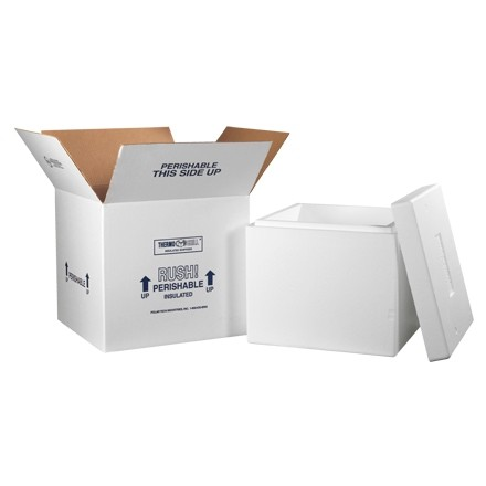 "16 3/4 x 16 3/4 x 15"" Insulated Shipping Kits"