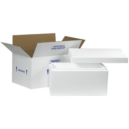 "17 x 10 x 8 1/4"" Insulated Shipping Kits"