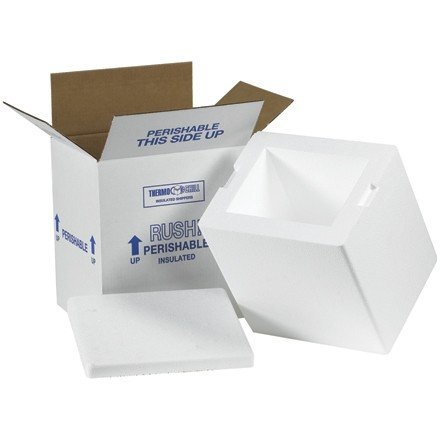 "8 x 6 x 9"" Insulated Shipping Kits"