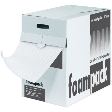 "Air Foam Dispenser Box - 1/4"", 12"" x 85"