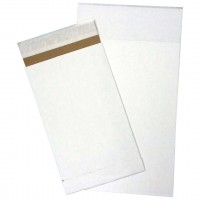White Eco-Friendly Self-Seal Mailer Bags, 5 x 10""