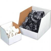 "12 x 12 x 8"" Large Corrugated Bins"