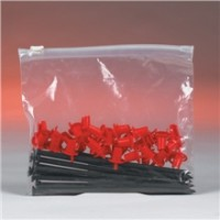 "Poly Bags, Slider, 4 x 6"", 3 Mil"
