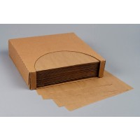 Grease Resistant Paper Sheets, Natural Kraft, 14 x 14""