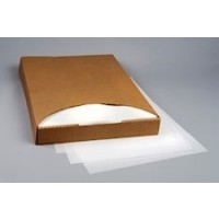 """White Pan Liners, Silicone Parchment Paper, 24 3/8 x 16 3/8"""" Heavy Duty"""