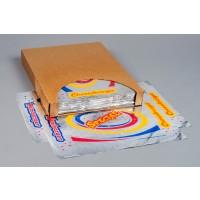 """Foil Sheets, Printed - Hamburger / Cheeseburger, 10 1/2 x 14"""""""