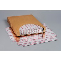 """Foil Sheets, Printed - Red, 10 1/2 x 13"""""""