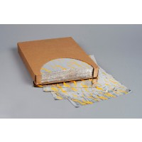 """Foil Sheets, Printed - Yellow, 10 1/2 x 13"""""""