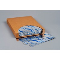 Foil Sheets, Printed - Blue Wave, 10 1/2 x 13""