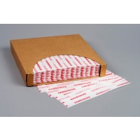 Dry Waxed Food Sheets, Hamburger, 12 x 12""