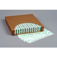 Dry Waxed Food Sheets, Green Delicious, 12 x 12""