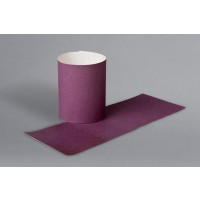 Purple Paper Napkin Rings, 1 1/2 x 4 1/4""