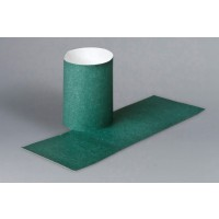Hunter Green Paper Napkin Rings, 4 1/4 x 1 1/2""