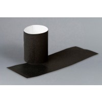 Black Paper Napkin Rings, 1 1/2 x 4 1/4""