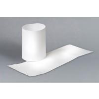 "White Paper Napkin Rings, 4 1/4 x 1 1/2"""