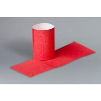 Red Paper Napkin Rings, 1 1/2 x 4 1/4""